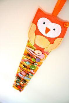 Cute idea for hair clips