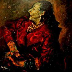 William Dobell - Study of Helena Rubinstein Freida Kahlo, Dorothea Tanning, Terra Australis, Eartha Kitt, Australian Artists, Art Auction, Painters, Crowd, Photographers