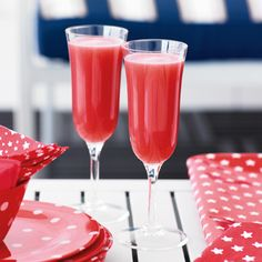 Watermellon berry sparkler