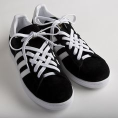 Lace adidas shoes - Cool Ways to Lace Shoes Creatively – Lace adidas shoes Lace Adidas Shoes, Addias Shoes, Army Shoes, Lace Sneakers, Star Shoes, How To Lace Vans, Ways To Lace Shoes, How To Tie Shoes, Lace Up Shoes