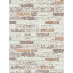 Beige Brick Wallpaper
