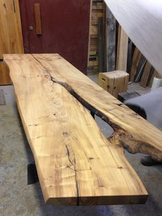 Sold this Maple slab last week Reclaimed Wood Table top Canadian Salvaged Timber