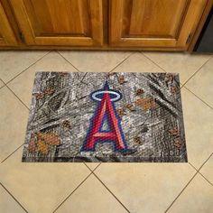 Los Angeles Angels LA Scraper Door Mat