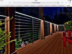 Matching Second Story Deck With Cable Railing Woodland