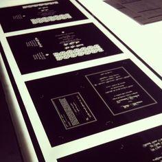 We develop film to make your letterpress wedding invitation plates
