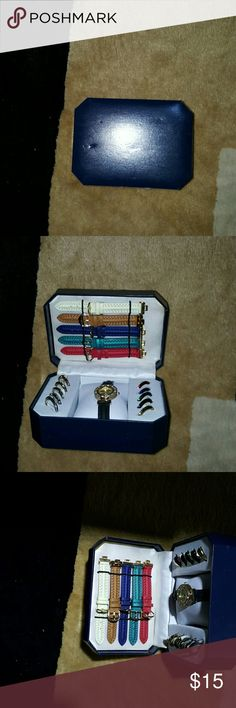 Brand new watch and band set Brand new watch and band set with watch faces. generic Accessories Watches
