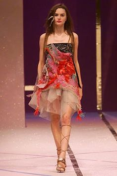 Christian Lacroix Spring 2002 Ready-to-Wear Collection Photos - Vogue