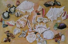 """""""Shell Collection"""" (Available at the Village Gallery in Lahaina, Maui)"""