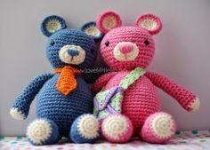 2000 Free Amigurumi Patterns: Bertie & Beatrix Bear – The Pattern