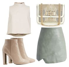 """""""Untitled #2643"""" by evalentina92 ❤ liked on Polyvore featuring Christian Louboutin, TIBI, Chicwish and Charlotte Russe"""