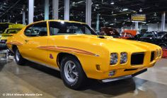 #canary #yellow 1970 #Pontiac #GTO #Judge #musclecar #LetsGetWordy
