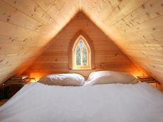 Ahh, a sleeping loft. Epu Plans | Tumbleweed Tiny House Company