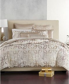 Hotel Collection Fresco Full/Queen Comforter, Created for Macy's - Gold King Comforter, Queen Duvet, Comforter Sets, Couches, Hotel Collection Bedding, Luxury Bedding Sets, Space Furniture, Furniture Ideas, Bedding Collections