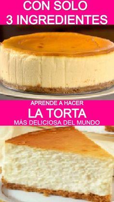 Cookie Desserts, No Bake Desserts, Easy Desserts, Delicious Desserts, Dessert Recipes, Homemade Cake Recipes, Baking Recipes, Spanish Cake Recipe, Yummy Eats
