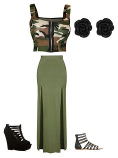 """""""Mine outfit 6.26.16"""" by fashionqueen1995 on Polyvore featuring WearAll and Topshop"""
