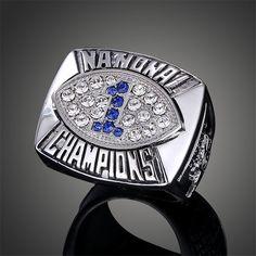 NCAA American Football Team Penn State Nittany Lions Joe Paterno Replica Super Bowl Rings J02112