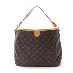 Louis Vuitton Delightful PM Monogram Shoulder bags Brown Canvas M40352