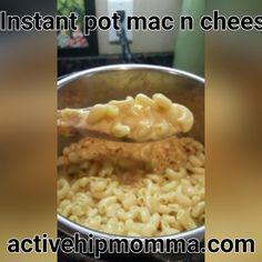Mac n cheese in ten minutes