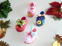 Magic Forest Keyholder  Little Shoes Keyholder by ArtistaToscano, €10.00