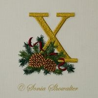 Winter Pines- X