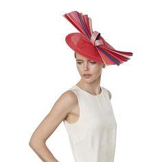bc2e9cd4a355e Erté bespoke hat – Jess Collett Milliner Red Hats