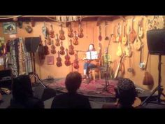 Open mic night at the Folk Music Center in Claremont!