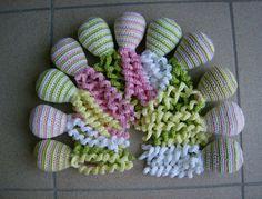 Deze inktvisjes zijn gemaakt door Lieve De Belie.