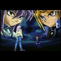 Bakura and Yugi