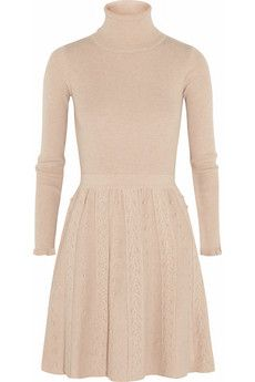REDValentino Textured-knit dress | THE OUTNET