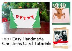 easy handmade christmas cards