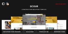 Scour - Construction Instapage Template by ExplicitConcepts   About Scour Instapage templateScour : is a clean and modern Construction instapage template. It can be used to promote your services, It has some features which will help you make your project stand out from the crowd. It has