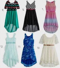 fotos de vestidos para niñas casuales