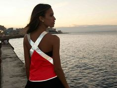 Reflective Safety Vest by Vespertine - great for night runs.