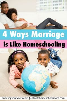 Have you ever stopped to consider how closely related homeschooling and marriage really are? I was so surprised and I'll bet you will be too!
