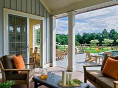 Pool Pavillion, pool view- Crisp Architects