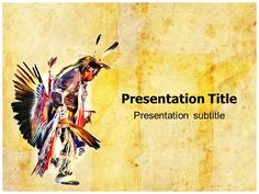 Native Americans PowerPoint Template is a free native template for ...