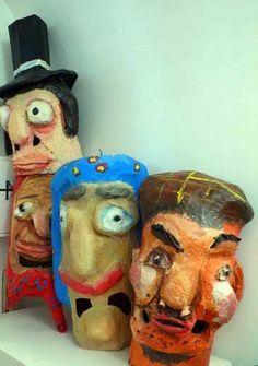 marionette stoffa e carta pesta - Cerca con Google