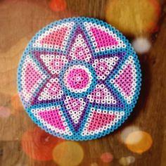 Mandala hama beads by jetsvandermeer