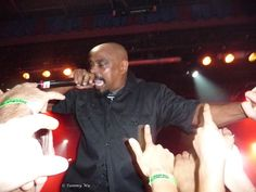Sen Dog of Cypress Hill rapping it out.
