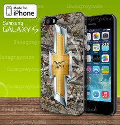 Camo Browning chevrolet For Samsung Galaxy S3 / S4 by Sasagreycase, $13.10