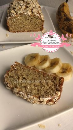 Banana Bread light all'avena e mandorle calorie a fetta Banana Bread light with oats and almonds calories per slice) – Banana Bread Light, Banana Bread French Toast, Healthy Snacks For Diabetics, Healthy Sweets, Torta Angel, Tortillas Veganas, Plum Cake, Cooking For One, Banana Bread Recipes