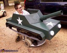 Tank Costume - Halloween Costume Contest via @costumeworks