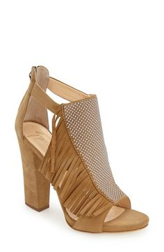 1a5d7332ac Giuseppe Zanotti Fringe Sandal (Women) available at #Nordstrom Brown  Sandals, Suede Sandals