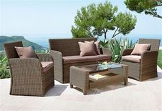 Lounge-Set »Gran Canaria« (11-tlg.) Outdoor Furniture Sets, Outdoor Decor, Lounge, Home Decor, Airport Lounge, Homemade Home Decor, Drawing Rooms, Lounge Music, Living Room