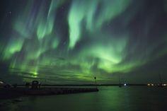 Aurora by: Norman Tam, Yellowknife, Northwest Territories // Shot: September 11, 2013   (Active Fall Northern Light near Yellowknife)