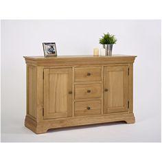 solid oak living dining room furniture large storage sideboard ebay grasmere extending table