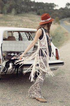 ^Woodstock Tassel Vest - Spell Designs: