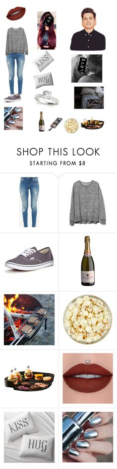 """""""Charlie Puth 👑"""" by queening2015 ❤ liked on Polyvore featuring Ted Baker, Gap, Vans, Emile Henry and Crate and Barrel"""