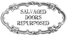 Dishfunctional Designs: New Takes On Old Doors: Salvaged Doors Repurposed - TONS OF IDEAS!!