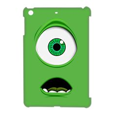 Mike Wazowski Monster Inc Cyclops Apple Ipad Mini 3D Case Cover, $19.89 #ipad #ipadmini #ipadcase #ipadcover #MikeWazowski #Monster #MonsterInc #Cyclops #Sulley #Randall